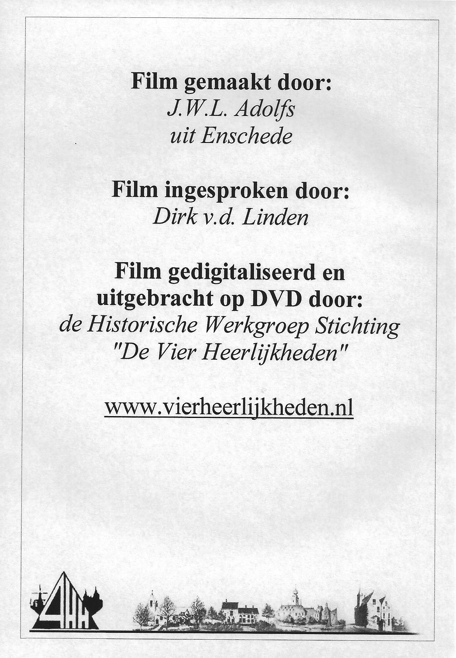 Zuilichem 1952 DVD back